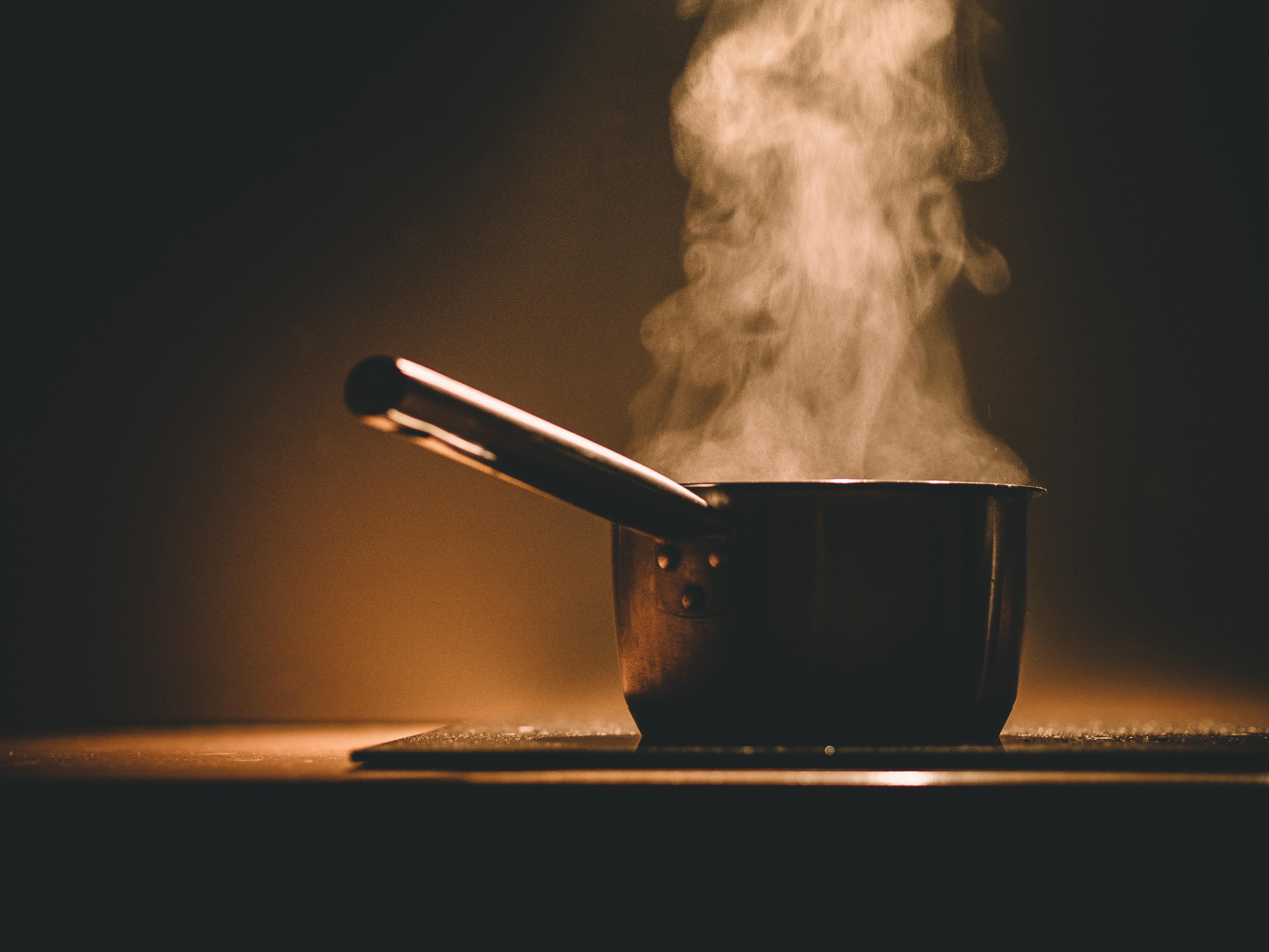Stress af med madlavning