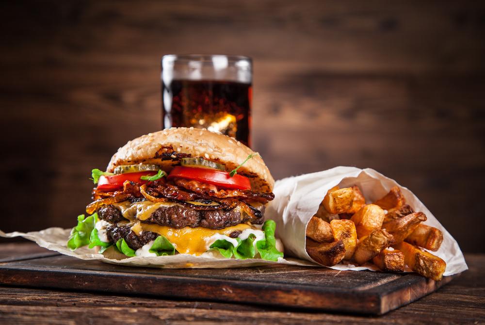 Du kan forkæle dig selv med en delikat burger – leveret direkte til døren